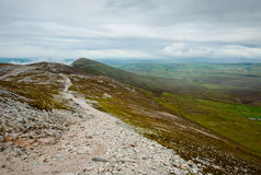 Holy Mountain - Croagh Patrick, Ireland Stock Photography