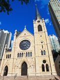 Holy Name Cathedral, Chicago Stock Photos