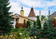 Holy Pafnutiev Borovsky Monastery Royalty Free Stock Images