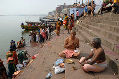 Holy Place In India Stock Photography