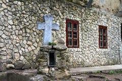Holy places of Moldova. Monastery Saharna Royalty Free Stock Photography