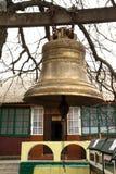 Holy places of Moldova. Monastery Saharna Royalty Free Stock Photo