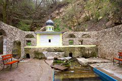 Holy places and sources of the Republic of Moldova Stock Photo