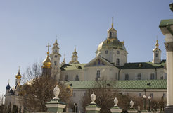 Holy places of Ukraine, Pochayiv Lavra Stock Photo