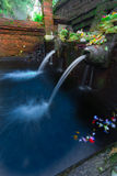 Holy pool in Bali ,Pura Tirta Empul Temple Stock Photography