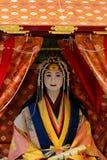 Holy princess Saioh at festival Saigu parade, Kyoto Japan. Holy princess of Saigu Parede Festival. the Ceremonial festival of princess holy Saioh and her noble Stock Photos