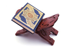 The Holy Quran. Isolated on white Back Ground Stock Photography
