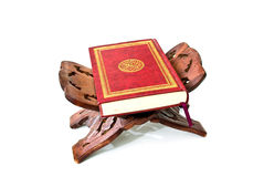 The Holy Quran. Isolated on white background Royalty Free Stock Photo