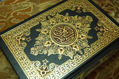 The holy quran. A holy muslim book (Quran stock photos