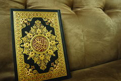 The holy quran. A holy muslim book (Quran Royalty Free Stock Image