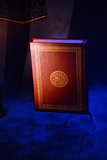 The Holy Quran. Openned on stand Stock Image