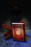 The Holy Quran. Openned on stand Royalty Free Stock Images