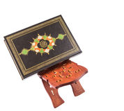 The Holy Quran On Book Stand I Royalty Free Stock Photo