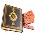 The Holy Quran On Book Stand III Stock Photo