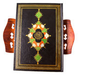 The Holy Quran On Book Stand V Royalty Free Stock Image