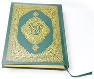 Holy Quran from the front Stock Photo