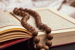 The holy quran. Quran muslim prayer koran book law stock photo