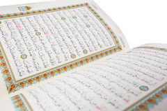 The Holy Quran Pages IV Royalty Free Stock Photos