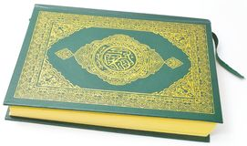 Holy Quran from the side royalty free stock images
