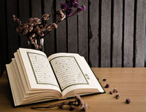 The holy Quran royalty free stock image