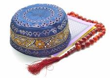 The Holy Quran and Tasbih. Muslim prayer Royalty Free Stock Photos