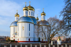 Holy Resurrection Cathedral, Brest, Belarus Royalty Free Stock Images