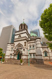 Holy Resurrection Cathedral (Nikorai-do, 1891) in Tokyo, Japan Royalty Free Stock Images