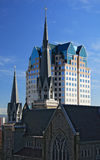 Holy Rosary Cathedral. Catholic Church. Downtown of Vancouver royalty free stock photography