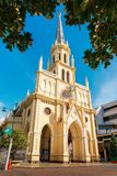 The Holy Rosary Chruch in bangkok thailand landmark background stock images