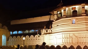 Holy sacred temple of tooth relic Royalty Free Stock Images
