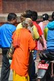 Holy sadhu hindu man Stock Images