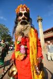 Holy sadhu hindu man Stock Photo