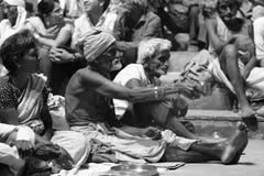 Holy Sadhu of India Royalty Free Stock Photography