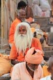 Holy Sadhu of India Stock Photo