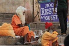 Holy Sadhu of India Royalty Free Stock Image