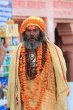 Holy Sadhu of India Stock Images