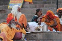Holy Sadhu of India Royalty Free Stock Photo
