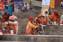 Holy Sadhu of India Stock Image