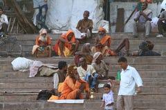 Holy Sadhu of India Stock Images
