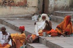Holy Sadhu of India Royalty Free Stock Photos