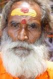 Holy Sadhu man Stock Image