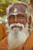 Holy Sadhu men in India Stock Photography