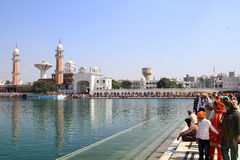 holy sarovar Stock Photos