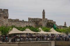 Holy Saturday in Jerusalem Royalty Free Stock Photos