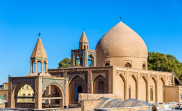 Holy Savior Cathedral (Vank Cathedral) in Isfahan Stock Photo