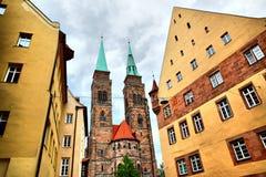 Holy Sebaldus Church in Nuremberg Royalty Free Stock Photo