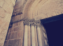 Holy sepulcher church Royalty Free Stock Images