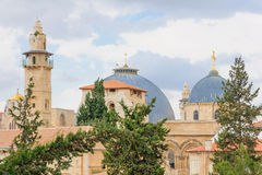 The Holy Sepulcher Church Stock Images