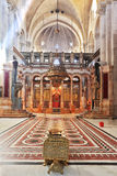 The Holy Sepulcher in Jerusalem Stock Photos
