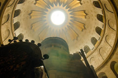Holy Sepulcher. In Jerusalem in Israel Royalty Free Stock Photography